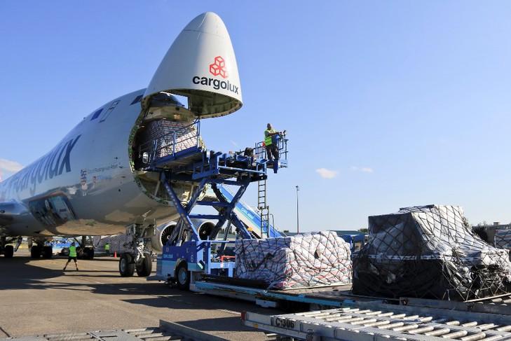 A Cargolux B747 Freighter